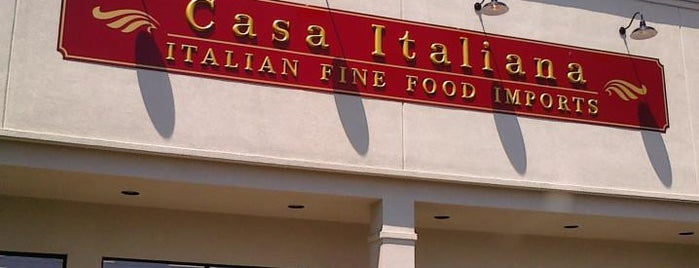 Casa Italiana is one of Top picks for Food & Drink Shops.