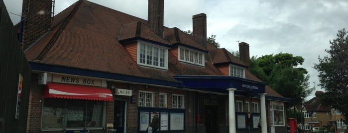 Watford London Underground Station is one of Tube Challenge.