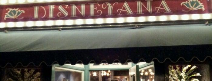 Disneyana is one of Disneyland Shops.