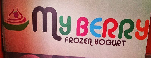 MyBerry Frozen Yogurt is one of Play with Your Food.