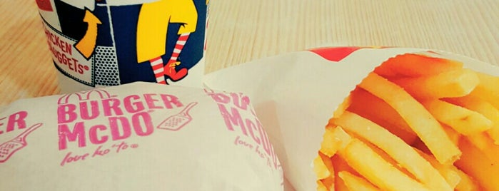 McDonald's is one of All-time favorites in Philippines.
