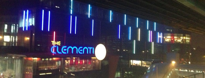 The Clementi Mall is one of singapore.