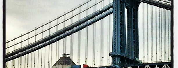 Manhattan Bridge is one of NYC Dept of Transportation Bridges.
