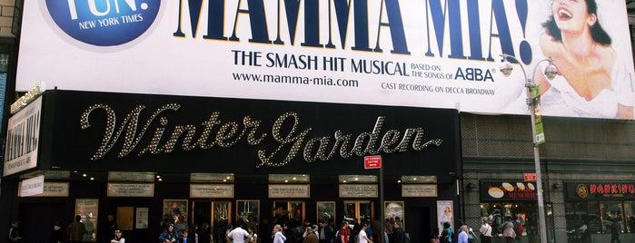 Winter Garden Theatre is one of City of New York's tips.