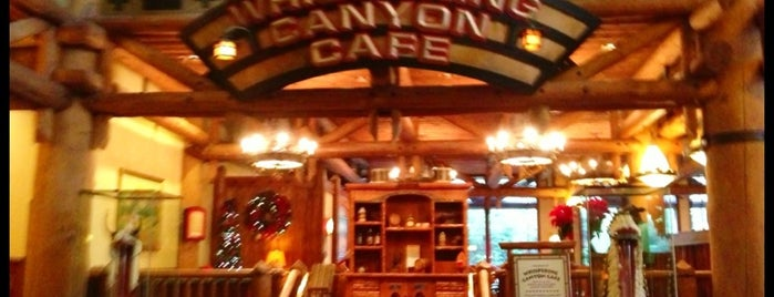 Whispering Canyon Café is one of All-time favorite places.