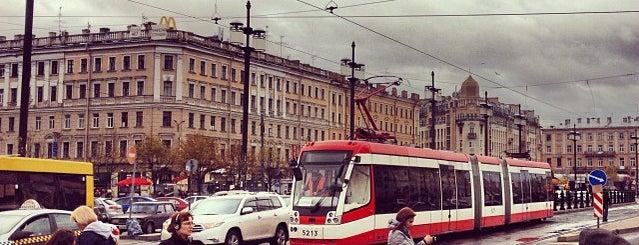 Sennaya Square is one of Санкт-Петербург.