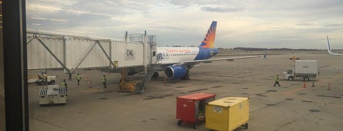 Gate A19 is one of Cincinnati Airport.