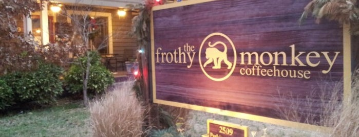 The Frothy Monkey is one of Fooood nom nom.