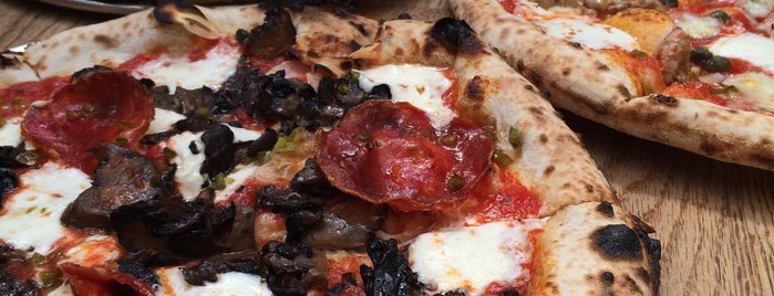 Roberta's Pizza is one of NYC to try.