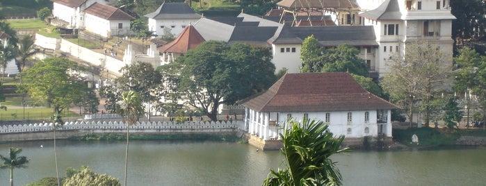 Kandy Lake is one of Trips / Sri Lanka.