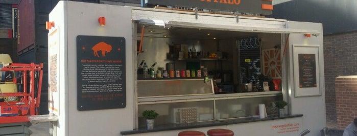 The Orange Buffalo is one of London Cheap Eats.