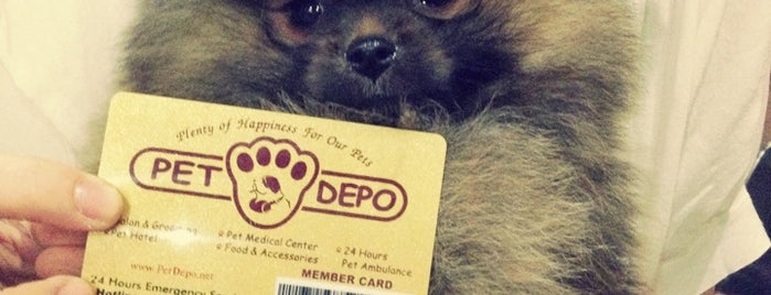 Pet Depo - Pet Shop is one of Dog's Best Friend Badge.