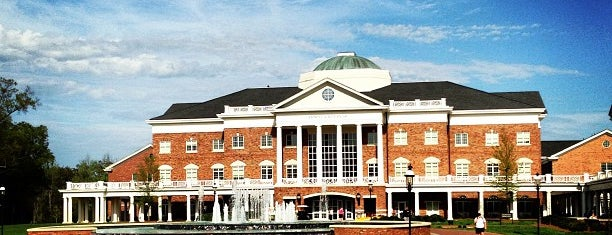 Koury Business Center is one of Elon.