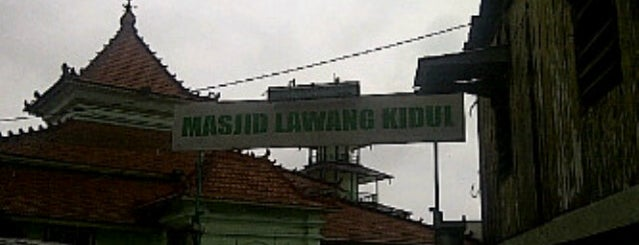 Masjid Lawang Kidul is one of tebengak.