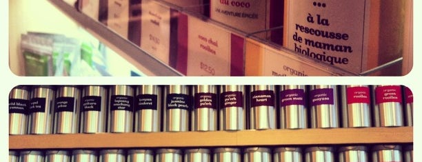 DAVIDsTEA is one of Tea in NYC.