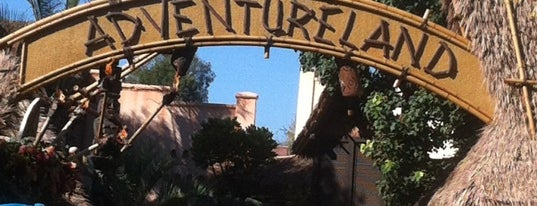 Adventureland is one of Disneyland.