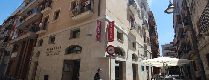 Restaurant Balandra is one of Tarragona Gastronòmica.