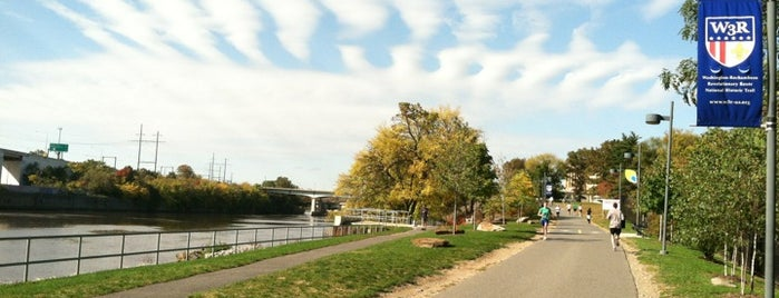 Schuylkill River Trail is one of Cycling Destinations.