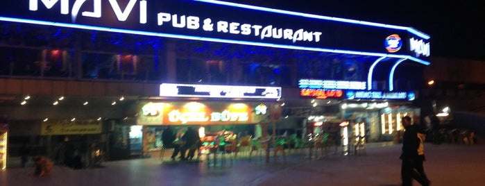 Mavi Pub&Restaurant is one of The places I love in Türkiye.