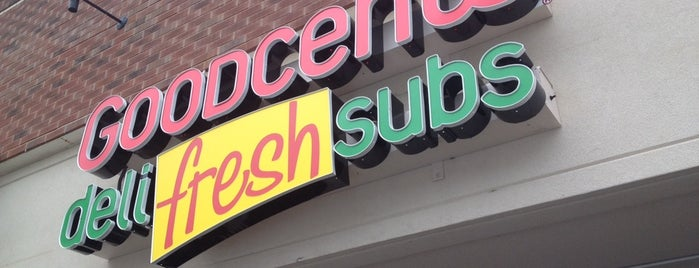 Goodcents Deli Fresh Subs is one of Places I End Up Frequently.