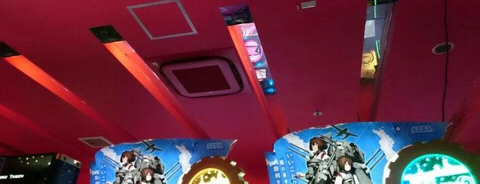 CLUB SEGA is one of 関西のゲームセンター.