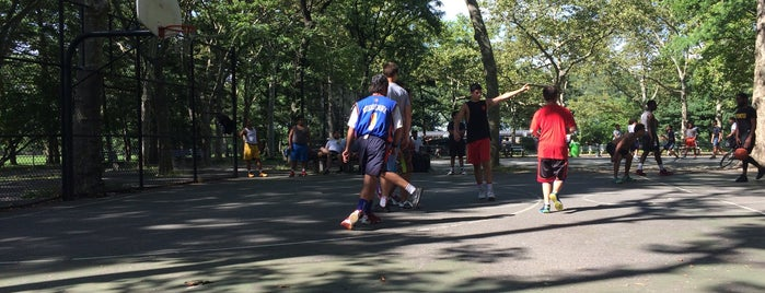 Central Park Basketball Courts is one of Best pick up basketball courts in NYC.