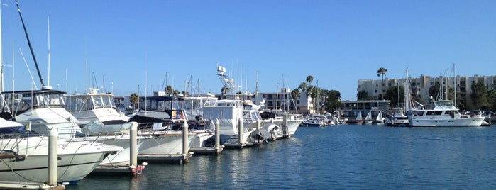 Marina Del Rey Harbor is one of On The Water.