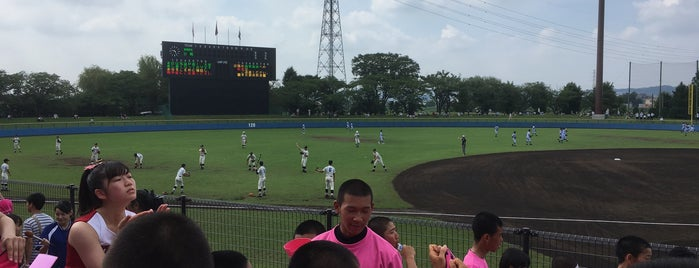 立川公園野球場(市営立川球場) is one of Japan Triple Play.