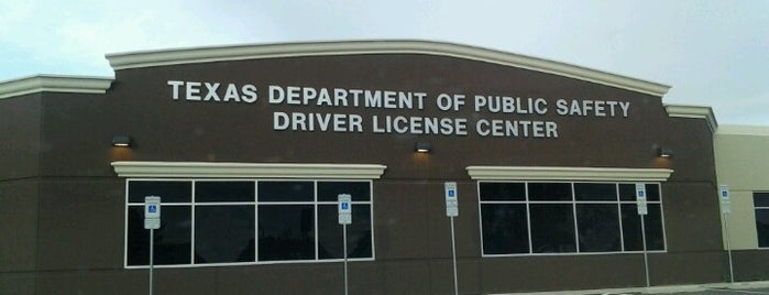 Texas Department Of Public Safety Drivers License Center is one of Done.