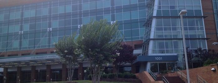 Mary Washington Hospital is one of hospitals.