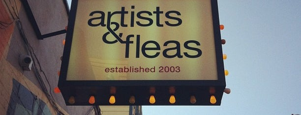 Artists & Fleas is one of Parks & Recreation.