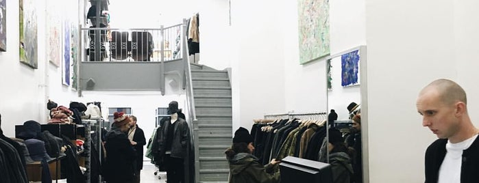 Nepenthes New York is one of Menswear New York.