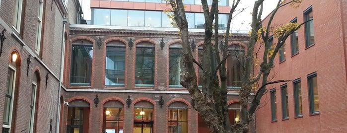 Campus Den Haag - Schouwburgstraat is one of Geesteswetenschappen / Humanities.