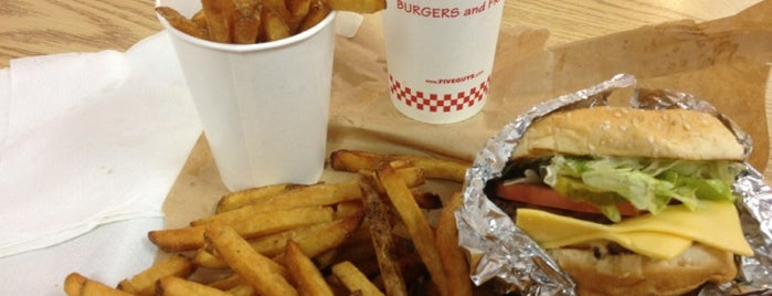 Five Guys is one of Favorite Tampa Bay Area Places.