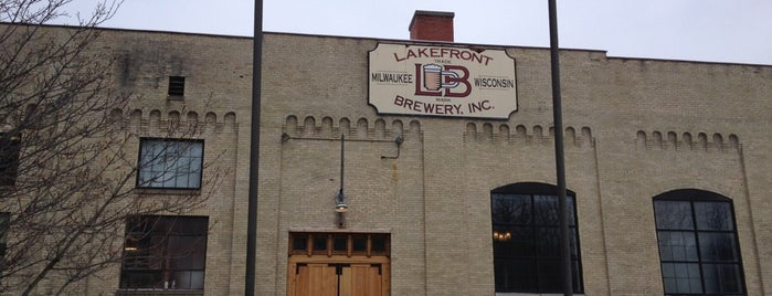Lakefront Brewery is one of A Traveler's Guide to Milwaukee.