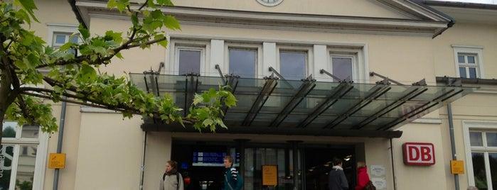 Bahnhof Lüneburg is one of Ausgewählte Bahnhöfe.
