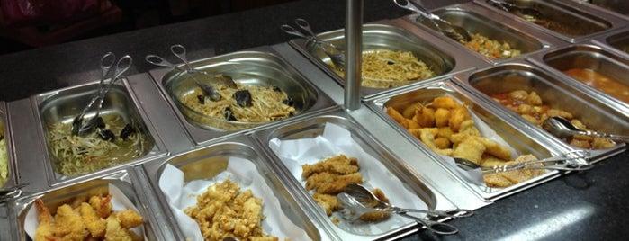 Restaurante Chinês Jardim is one of Restaurantes com comida vegetariana.