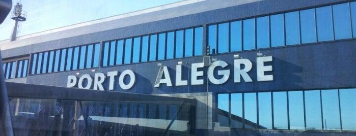 Salgado Filho International Airport (POA) is one of sem perímetro.