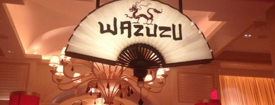 Wazuzu at Encore is one of Vegan-Friendly Travel.