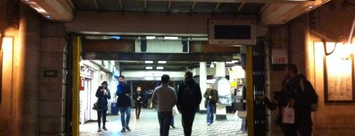 Embankment London Underground Station is one of Zone 1 Tube Challenge.