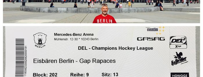Mercedes-Benz Arena is one of JYM Hockey Arenas TOP100.