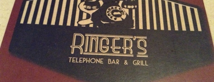 Ringers - Telephone Bar & Grill is one of bars.