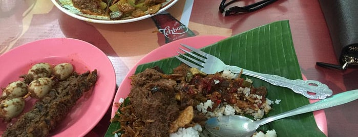 Nasi Gurih Tenda Biru is one of Favorite Food.