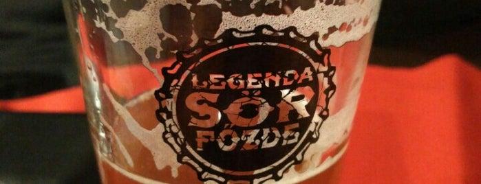 Legenda Sörfőzde Pub is one of Gabor's tips.