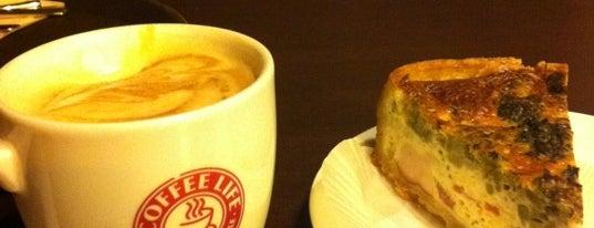 Coffee Life is one of Cafe Kyiv (Kiev, Ukraine).