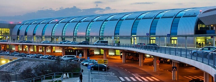 Budapest Liszt Ferenc International Airport (BUD) is one of 1.