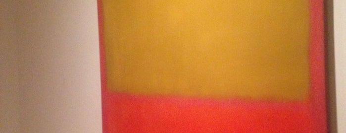 Rothko Room is one of Isa's tips.