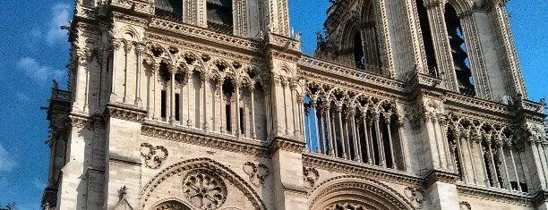 Kathedrale Notre-Dame de Paris is one of Paris, FR.