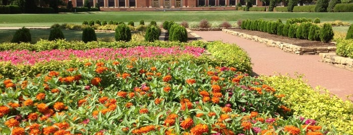 Library Lawn is one of Increase your Stillwater City iQ.