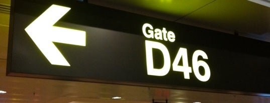 Gate D46 is one of SIN Airport Gates.